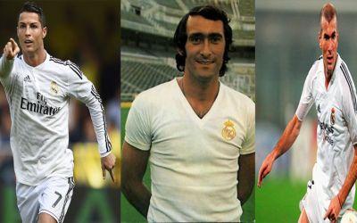 রিয়াল মাদ্রিদ ইতিহাসের সেরা ফুটবলাররা