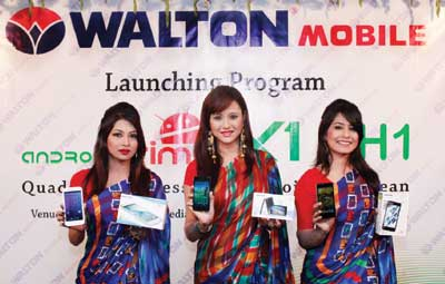 Walton launches two new models of Primo smartphones