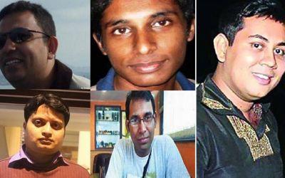 Blogger killing cases locked in files