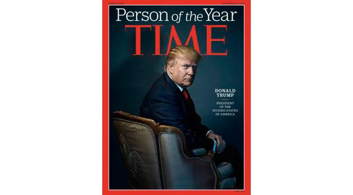 Time Magazine names Trump `Person of the Year`