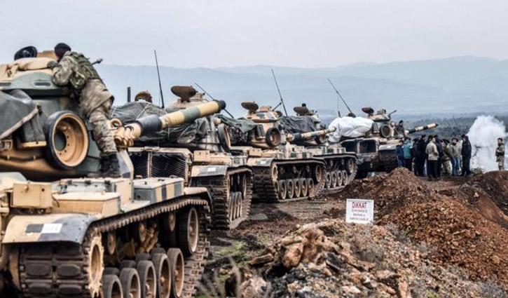 সিরিয়ার আফরিনে 'কিছু গ্রাম দখল করেছে' তুর্কি বাহিনী