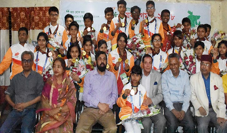 দাবায় বরিশাল ও ঢাকা বিভাগ চ্যাম্পিয়ন