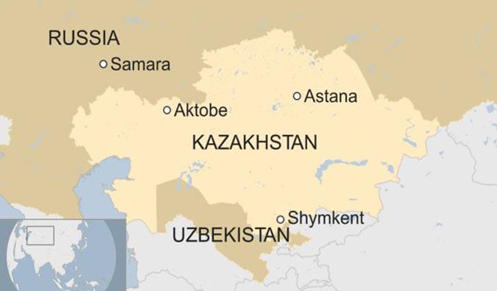কাজাখস্তানে বাসে আগুন লেগে নিহত ৫২