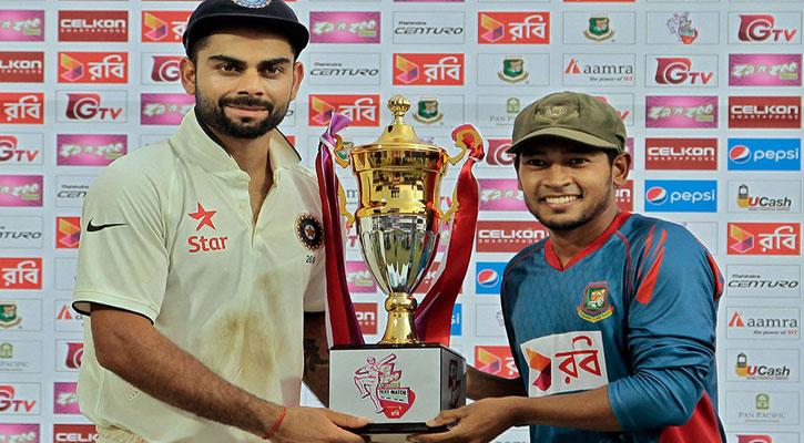 বাংলাদেশ-ভারত টেস্ট নিয়ে স্মারকগ্রন্থ