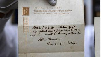 আইনস্টাইনের 'সুখী জীবনের তত্ত্ব'