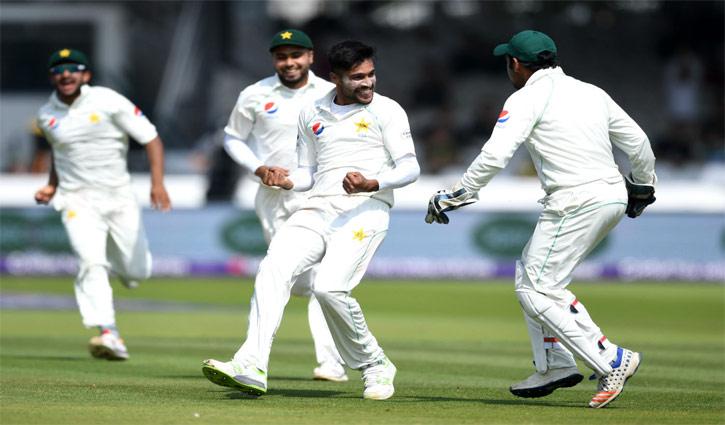 লর্ডস টেস্টে জয়ের সুবাসপাচ্ছে পাকিস্তান