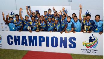 ভারতকে ৩ রানে হারিয়ে চ্যাম্পিয়ন শ্রীলঙ্কা