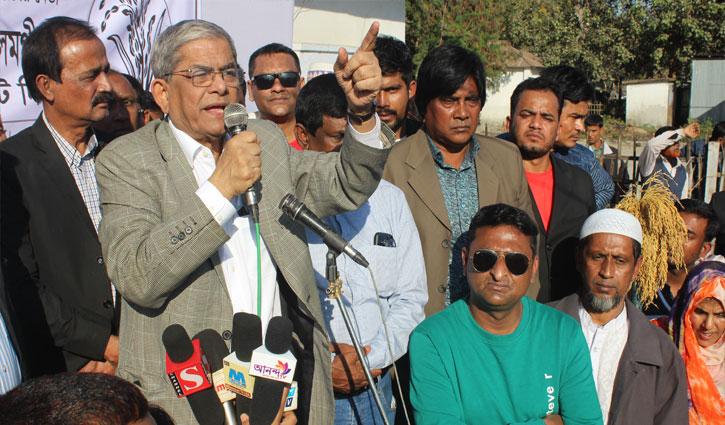 'নির্বাচন বানচাল করার পরিকল্পনা করছে আ.লীগ'