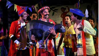 বুধবার 'কিনু কাহারের থেটার'