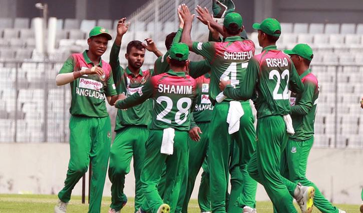 শ্রীলঙ্কা সফরে অনূর্ধ্ব-১৯ দল ঘোষণা