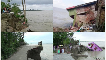 Take action to prevent river erosion