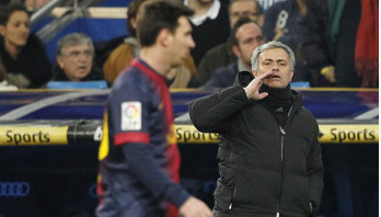Messi is the God of football: Mourinho