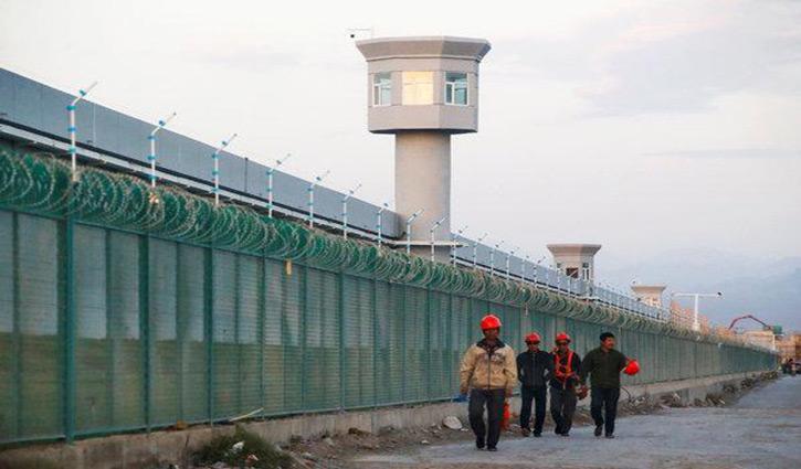 মুসলমানদের কনসেনট্রেশন ক্যাম্পে রাখছে চীন