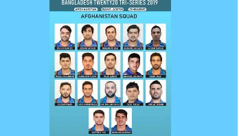 Afghanistan announce squad for tri-series