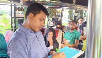অতিরিক্ত ভাড়া নেয়ায় চট্টগ্রামে ১৩ বাসকে জরিমানা