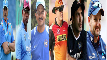 Who is becoming India's head coach?