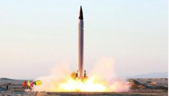 Iran test fires new missile
