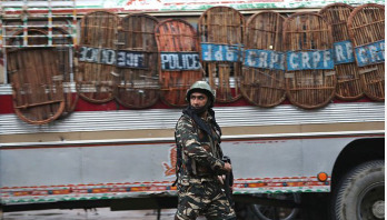 Hundreds of Kashmiri children taken away by forces