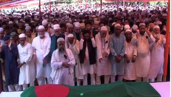 Prof Muzaffar Ahmed laid to rest