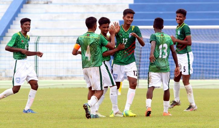 Bangladesh thrash Sri Lanka 7-1 goals