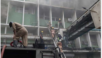 Fire breaks out at AIIMS Hospital in India
