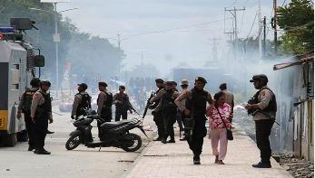 পাপুয়ায় ইন্টারনেট সেবা বন্ধ করে দিয়েছে ইন্দোনেশিয়া