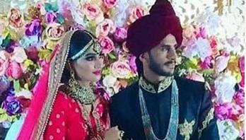 Pakistan cricketer Hasan Ali marries Indian girl