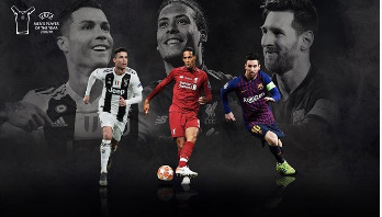 Nominees revealed for UEFA player of the year awards