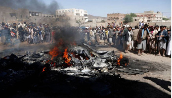 US military drone shot down over Yemen