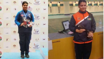 Ardina earns country's 1st ever silver in air pistol