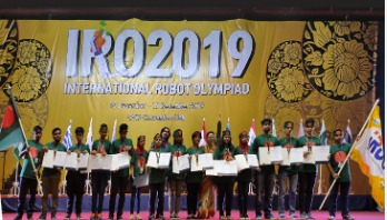 Bangladesh win gold, 9 other medals in Robot Olympiad