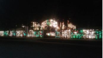মৌলভীবাজার শহরজুড়ে আলোকসজ্জা