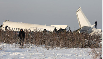Plane crashes in Kazakhstan, 14 killed