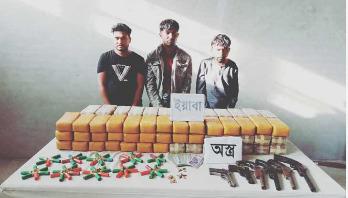 Godfather held with 8 lakh Yaba pills