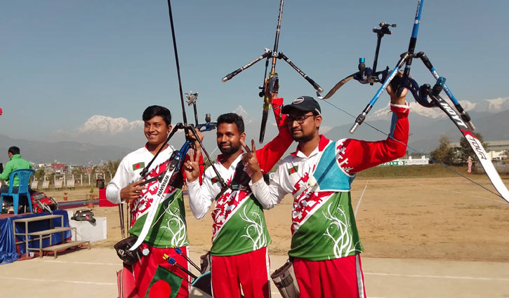 Bangladesh wins gold medal in archery
