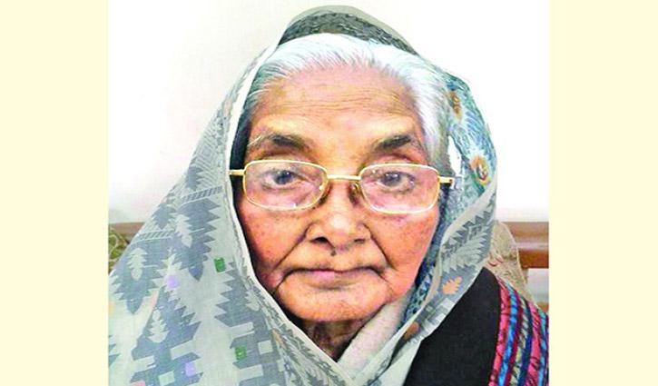Language Movement activist Rawshan Ara Bachchu dies