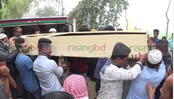 চকবাজার ট্র্যাজেডি: নোয়াখালীতে ১৫ জনের দাফন সম্পন্ন