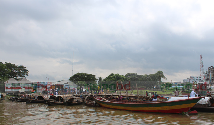 কেরাই নৌকায় কাঠালিয়া