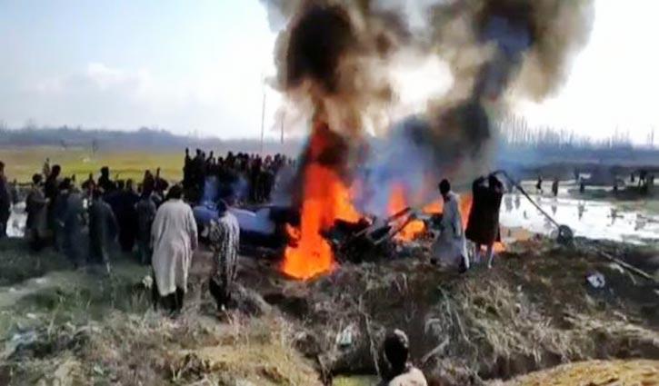 'ভারতের দুটি বিমান ভূপাতিত করেছে পাকিস্তান'