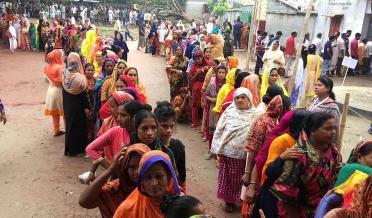 ব্রাহ্মণবাড়িয়া-২ : স্থগিত ৩ কেন্দ্রে ভোটগ্রহণ চলছে