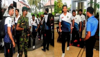Tigers arrive in Sri Lanka amid tight security