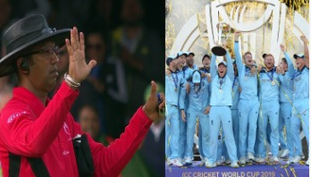 England win World Cup as umpires mistake