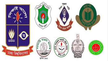 Students of 7 DU-affiliated colleges stage demo again