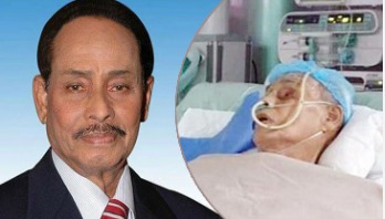 Ershad on life support