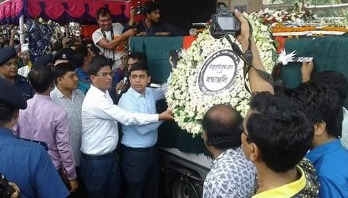 Ershad finally laid to rest in Rangpur