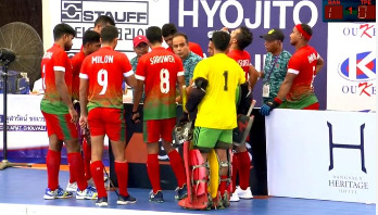 Bangladesh 7th in Indoor Hockey Asia Cup