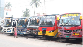 Bus service in Meherpur stopped for 3 days