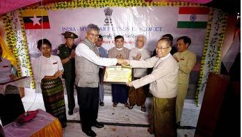 India hands over 250 houses for Rohingya in Rakhine