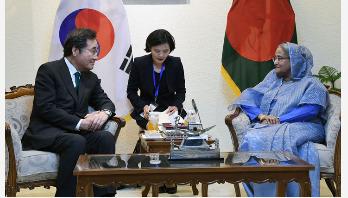 Hasina-Lee meeting
