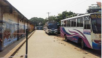 Indefinite transport strike in Sirajganj